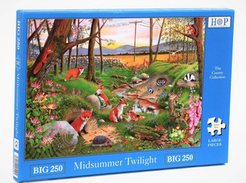 House of puzzles 250 big pieces Midsummer Twilight
