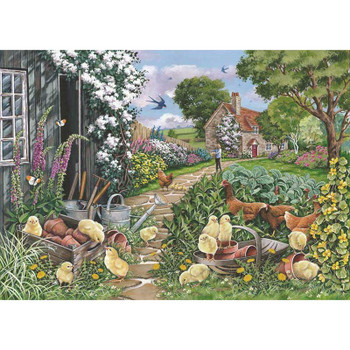 House of puzzles 250 big pieces Going Cheep