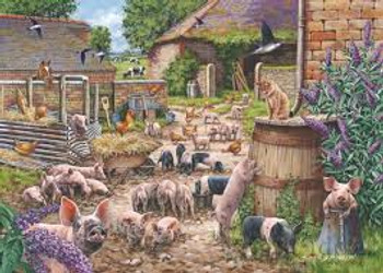 House of puzzles 250 big pieces Piglet Pandemonium