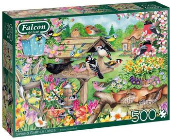 Falcon 500 piece jigsaw Spring Garden Birds