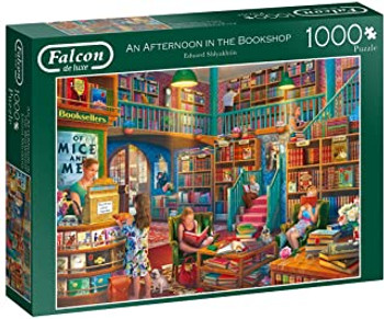 Falcon 1000 piece jigsaw An Afternoon in the Bookshop