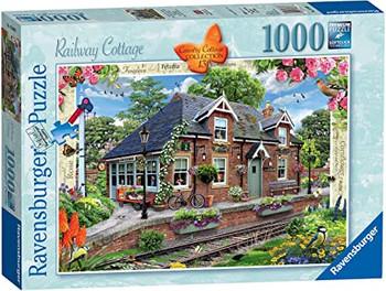 Ravensburger 1000 piece jigsaw Railway cottage