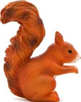Squirrel Standing toy Figure
