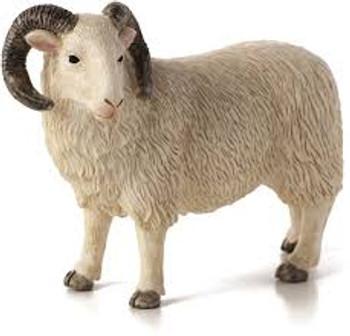 Sheep Ram Toy Figure