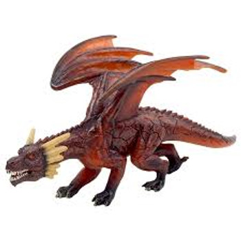 Fire Dragon Toy Figure
