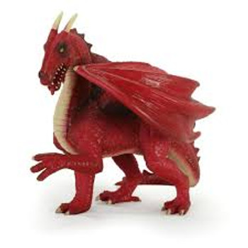 Red Dragon Toy Figure