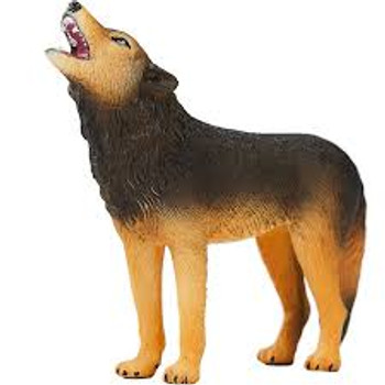 Wolf Howling Toy Figure