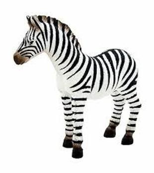 Zebra Foal Toy Figure