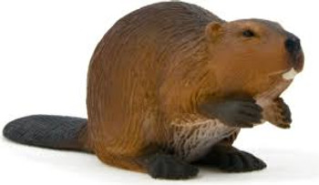 Beaver Toy Figure