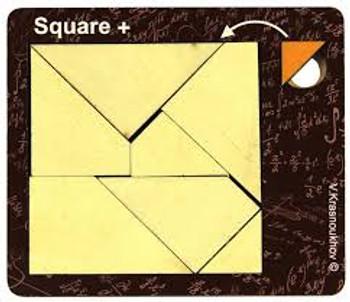 Krasnoukhov Amazing Packing Problems Square Puzzle