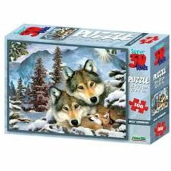 Wolf Harmony 100 piece Jigsaw 3D
