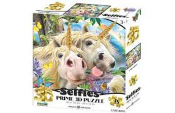 Unicorn Selfie Jigsaw 48 piece