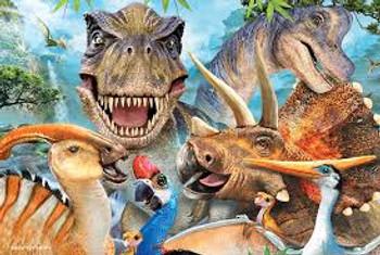 Dinosaur Selfie 48 piece 3D Jigsaw