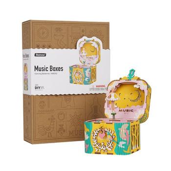 Rolife Music Box Wooden kit
