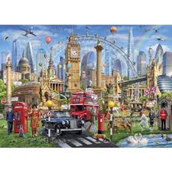 Gibson 1000 piece Jigsaw London Calling
