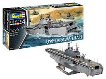 Revell Tarawa LHA 1 Model Kit