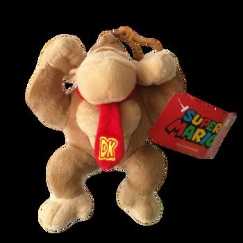 Donkey kong  soft toy Mario