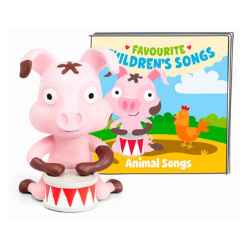 Audio Character FOR THE tONIE BOX Animal Songs