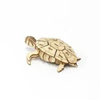 Jigzle Wooden 3 D model Sea Turtle