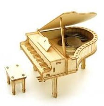 Jigzle 3D model Piano