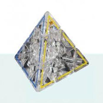 Pyraminx Crystal 50th Anniversary Cube