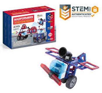 Magformers Amazing Police and Rescue Set