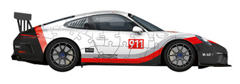 Ravenesburger 3D Porsche 911 GT13 Jigsaw