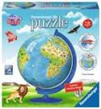 Ravensburger 3D Puzzle Children's Globe 180 pieces