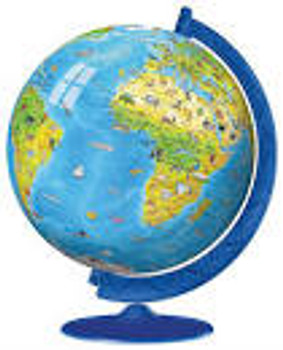 Ravensburger 3D Puzzle Children's Globe 180 pieces