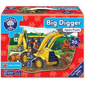 Orchard Toys Big Digger 20 Piece Jigsaw