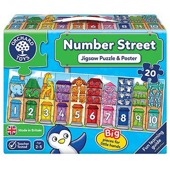 Orchard Toys Number Street 20 piece jigsaw