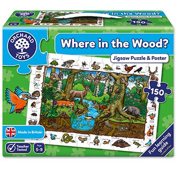 Orchard Toys Where in the woods 150 piece jigsaw