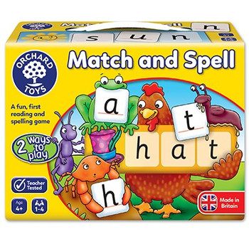 Orchard Toys first Match and Spell game