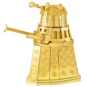 Metal Earth Gold Dalek
