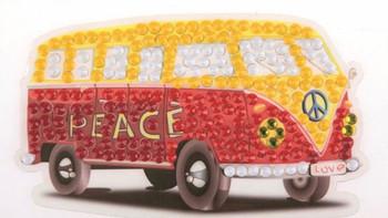 Crystal Art Camper Van