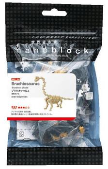 Nano Block Brachiosaurus Skeleton
