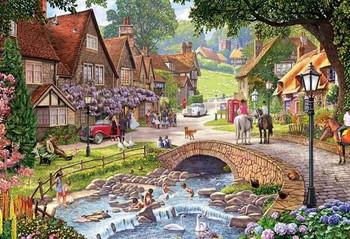 Wisteria wedding 250 big pieces Jigsaw puzzle