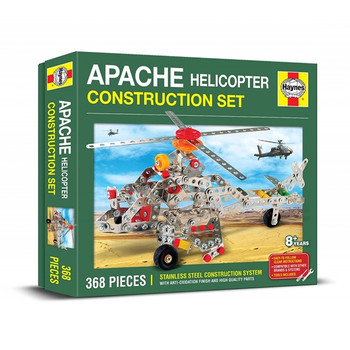 Apache Helicopter Metal Construction Kit