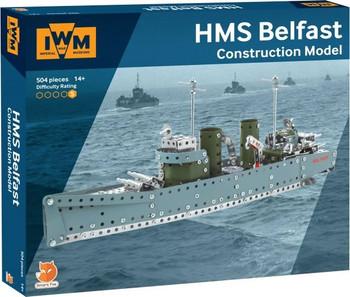 HMS Belfast Metal Construction Kit