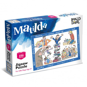 Ronald Dahl  250 piece jigsaw Matilda