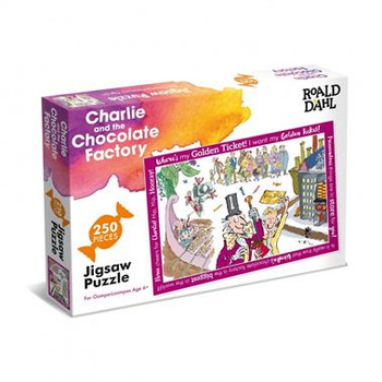Ronald Dahl 250 piece jigsaw Charlie and the Chocolate Factory