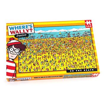 Where's Wally 250 piece jigsaw on the Beach