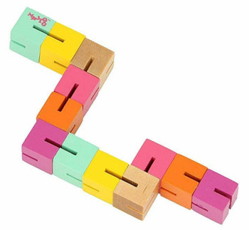 Kids twist and block toy