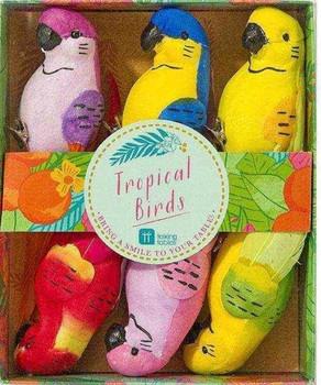 Tropical birds 6 pck