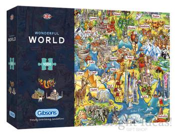 Gibson 1000 piece Wonderful World