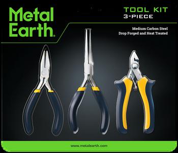 Metal Metal 3 piece tool set