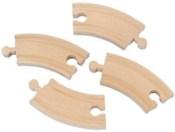 Short Curved Track 4pc
