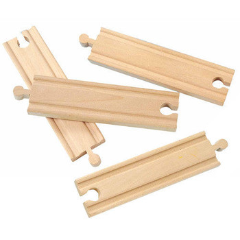 """6"""" Straight Track for wooden train sets"""