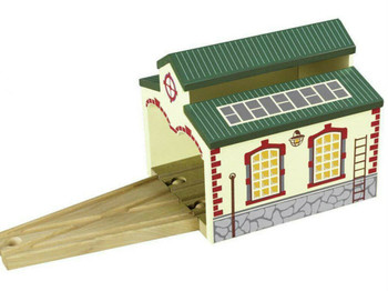 Engine Shed for wooden train