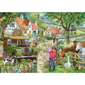 House of Puzzles Orchard Farm 1000 piece jigsaw